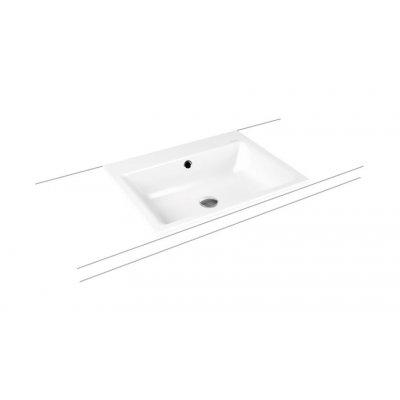 Kaldewei Puro umywalka 60x46 cm wpuszczana prostokątna model 3151 biała 900106013001