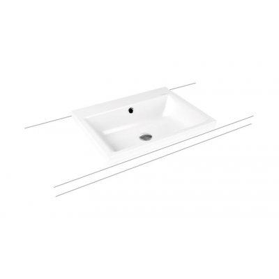Kaldewei Puro umywalka 60x46 cm nablatowa prostokątna model 3154 biała 900406013001