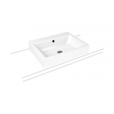 Kaldewei Puro umywalka 60x46 cm nablatowa prostokątna model 3157 biała 900706013001