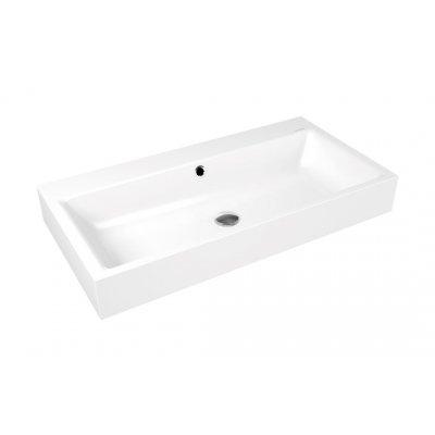 Kaldewei Puro umywalka 90x46 cm ścienna prostokątna model 3165 biała 901506013001