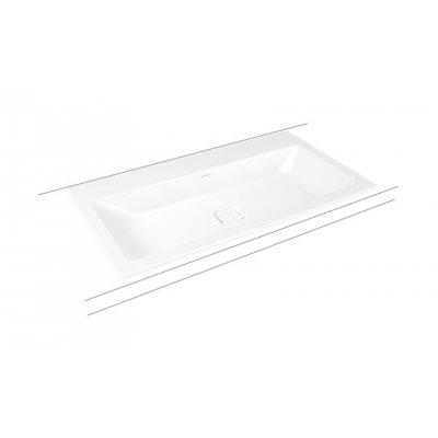 Kaldewei Cono umywalka 90x50 cm wpuszczana prostokątna model 3081 biała 901706013001