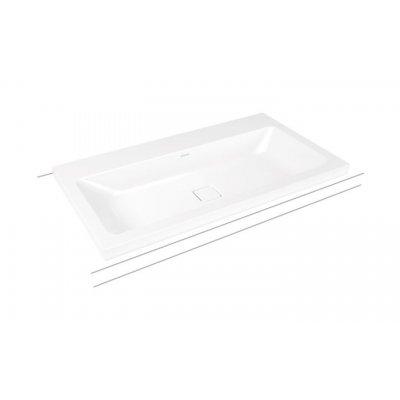 Kaldewei Cono umywalka 90x50 cm nablatowa prostokątna model 3084 biała 902006013001