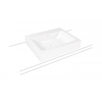 Kaldewei Cono umywalka 60x50 cm nablatowa prostokątna model 3085 biała 902106013001