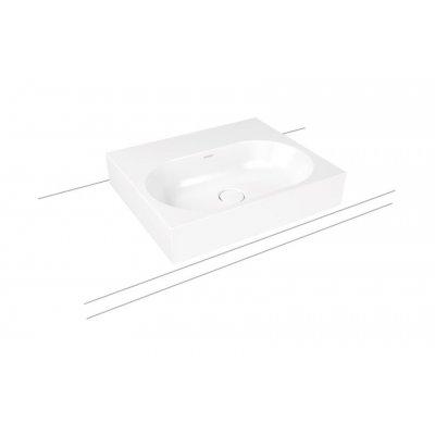 Kaldewei Centro umywalka 60x50 cm nablatowa prostokątna model 3057 biała 903006013001