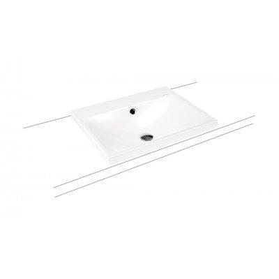 Kaldewei Silenio umywalka 60x46 cm nablatowa prostokątna model 3040 biała 903906013001