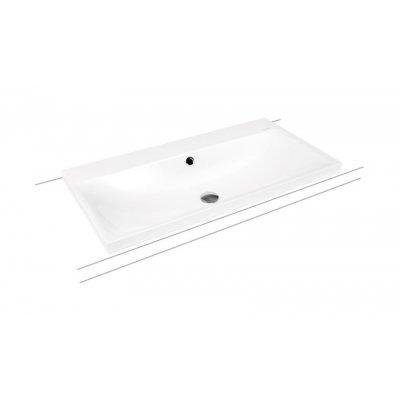 Kaldewei Silenio umywalka 90x46 cm nablatowa prostokątna model 3041 biała 904006013001