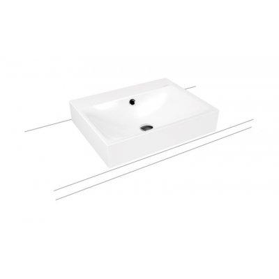 Kaldewei Silenio umywalka 60x46 cm nablatowa prostokątna model 3042 biała 904106013001