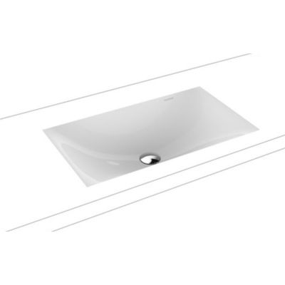 Kaldewei Silenio umywalka 63x39 cm podblatowa prostokątna model 3047 biała 906006313001