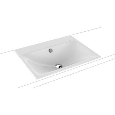 Kaldewei Silenio umywalka 60x46 cm wpuszczana prostokątna model 3037 biała 907706003001