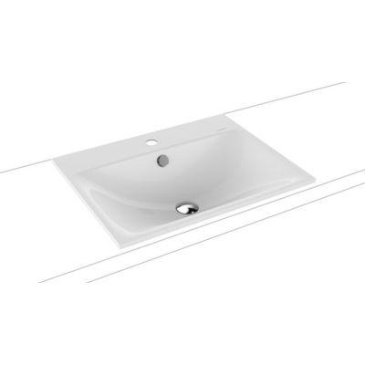 Kaldewei Silenio umywalka 60x46 cm wpuszczana prostokątna model 3037 biała 907706013001