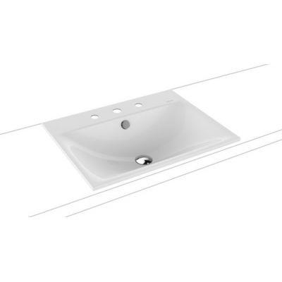 Kaldewei Silenio umywalka 60x46 cm wpuszczana prostokątna model 3037 biała 907706033001