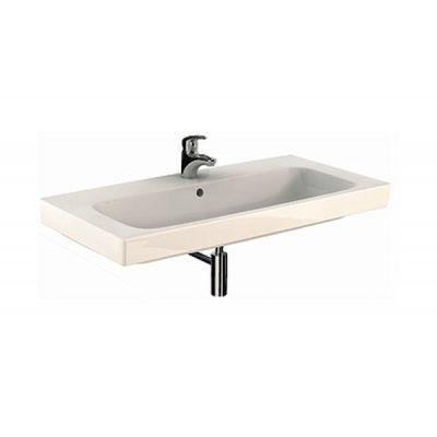Koło Modo umywalka 100x48,5 cm prostokątna Reflex biała L31900900