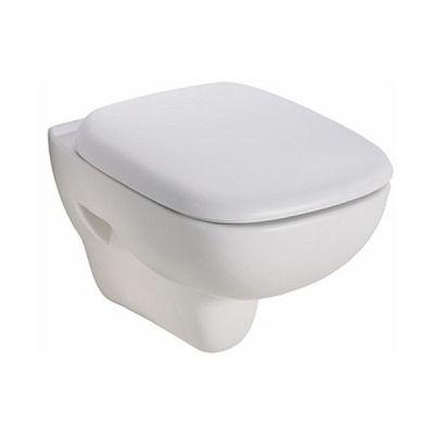 Zestaw Koło Style miska WC wisząca Rimfree Reflex z deską wolnoopadającą (L23120900, L20112000)