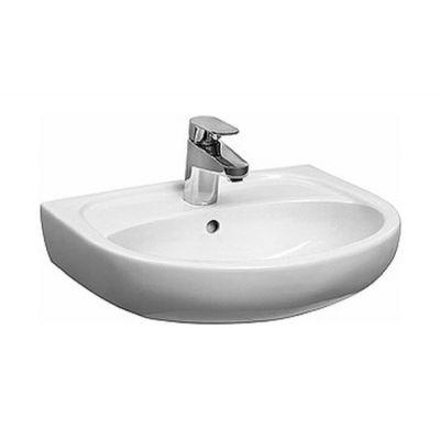 Koło Solo umywalka 50x42 cm meblowa półokrągła biała 71950-000