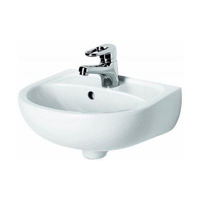 Koło Solo umywalka 40x33 cm półokrągła biała 72141-000