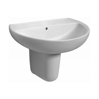 Koło Rekord umywalka 50x41 cm półokrągła biała K91050000