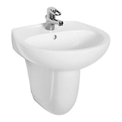 Koło Idol umywalka 50x41 cm półokrągła biała M11150000