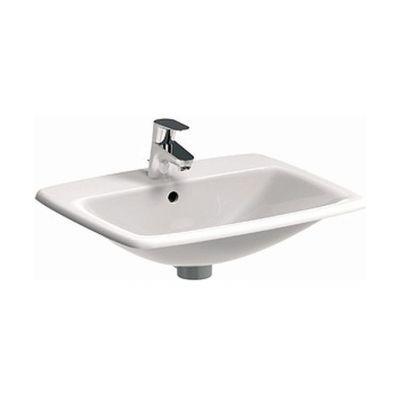 Koło Nova Pro umywalka 55x45 cm wpuszczana prostokątna biała M31856000