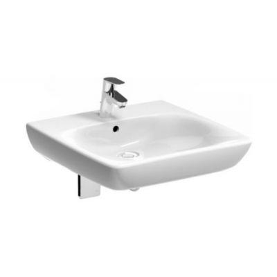 Koło Nova Pro Bez Barier umywalka 55 cm kwadratowa dla osób niepełnosprawnych biała M38155000