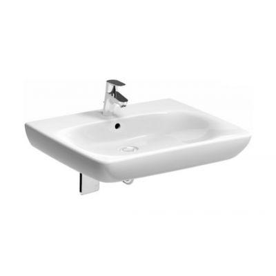 Koło Nova Pro Bez Barier umywalka 65,5x55 cm prostokątna dla osób niepełnosprawnych biała M38165000