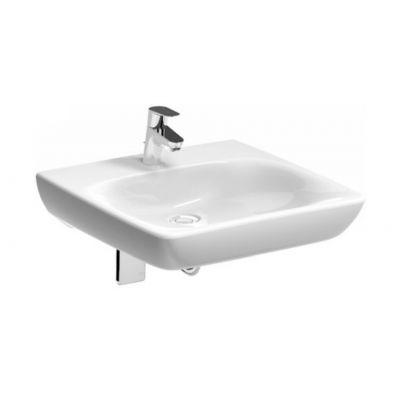 Koło Nova Pro Bez Barier umywalka 55 cm kwadratowa dla osób niepełnosprawnych biała M38455000