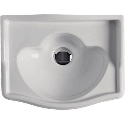 Kerasan Retro umywalka 41x32 cm ścienna biała 103301