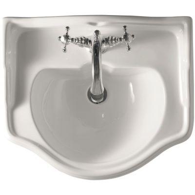 Kerasan Retro umywalka 55x46,5 cm biała 104501