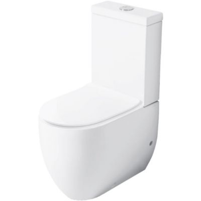 Kerasan Flo miska WC kompaktowa stojąca biała 311701