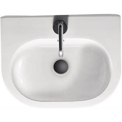 Kerasan Flo umywalka 50x40 cm biała 314101
