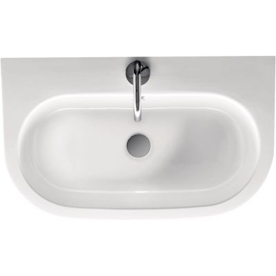 Kerasan Flo umywalka 70x42 cm biała 315001