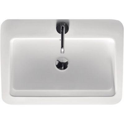 Kerasan Ego umywalka 60x43 cm prostokątna biała 324201