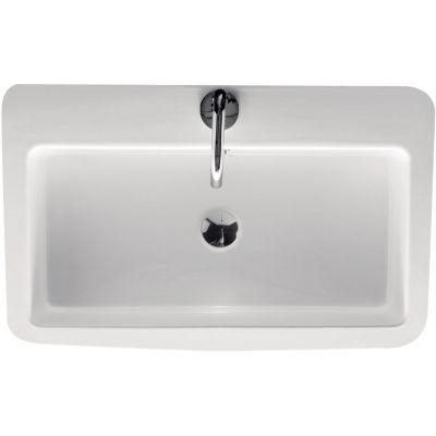 Kerasan Ego umywalka 70x43 cm prostokątna biała 325001