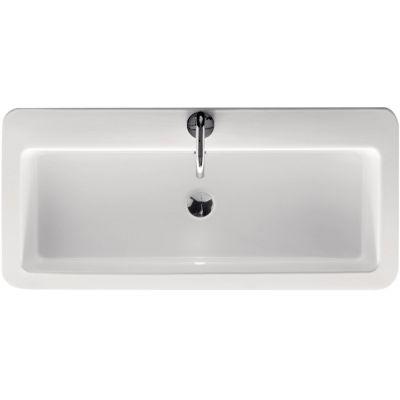 Kerasan Ego umywalka 90x43 cm prostokątna biała 325101