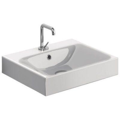 Kerasan Cento umywalka 50x45 cm prostokątna biała 353001