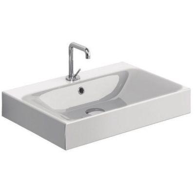 Kerasan Cento umywalka 60x45 cm prostokątna biała 353101