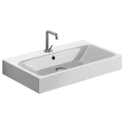 Kerasan Cento umywalka 70x45 cm prostokątna biała 353201