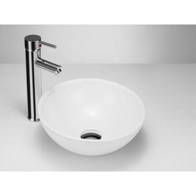 Massi Malo umywalka nablatowa 32 cm okrągła biała MSU-5601