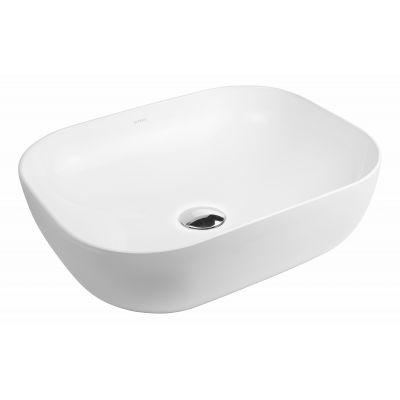 Oltens Josen umywalka 50x39,5 cm nablatowa biała 40305000