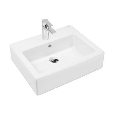 Oltens Susa umywalka wisząca 50x41 cm z powłoką SmartClean biała 41903000