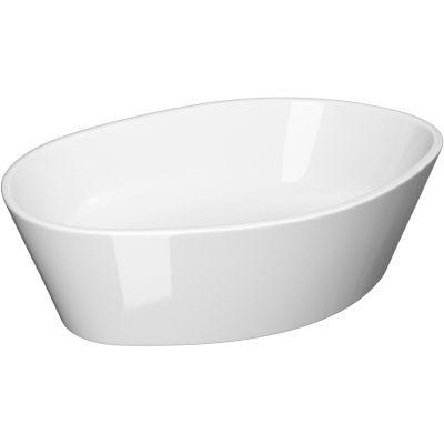 Cersanit City umywalka 53x35 cm nablatowa biała K35-046