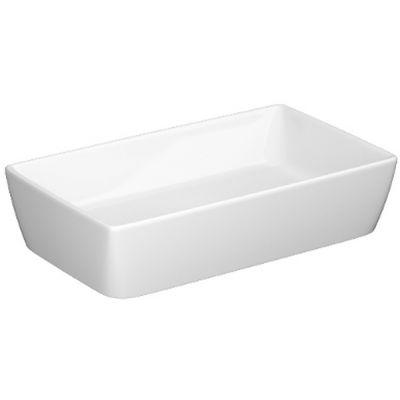 Cersanit City umywalka 60x36 cm nablatowa biała K35-047