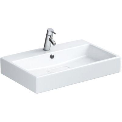 Opoczno Metropolitan umywalka 80x46,5 cm meblowa biała OK581-004-BOX