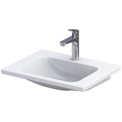 Oristo Cera umywalka 60x46 cm meblowa prostokątna biała UME-CE-60-91
