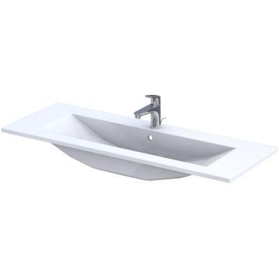 Oristo Silver umywalka 120x45 cm meblowa prostokątna biała UME-SI-120-92-C