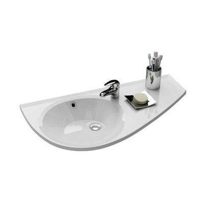 Ravak Avocado umywalka 85x45 cm prawa biała XJ1P1100000