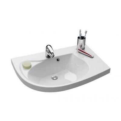 Ravak Rosa Comfort N P umywalka meblowa 78 cm prawa biała XJ8P11N0000