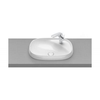 Roca Beyond umywalka 58,5x45 cm blatowa biała A3270B6000