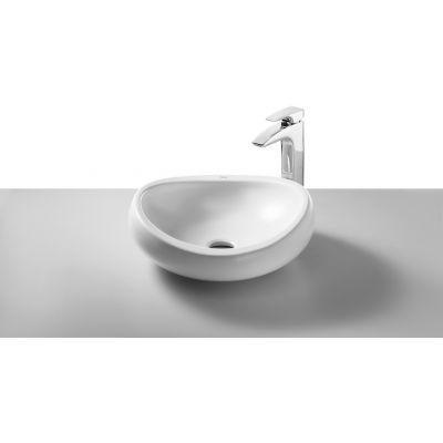 Roca Urbi 1 umywalka 45 cm nablatowa MaxiClean biała A32722500M