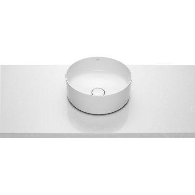 Roca Inspira Round umywalka 37 cm okrągła nablatowa biała A327523000