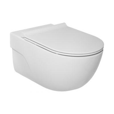 Roca Meridian-N miska WC wisząca Rimless biała A34624L000